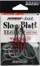 ASSIST HOOK SLOW BLATT SBHT HEAVY TWIN SIZE 1 ZETZ AMI DECOY ARTIFICIALI JIG
