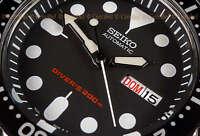 Seiko SKX007K1 Japan diver's 200M automatic rubber strap SKX007 Correa de caucho