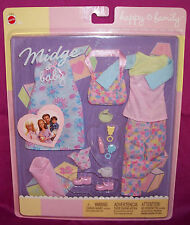 Barbie Happy Family New Doll Clothing Accessories Midge Baby Niki Mattel 3+ Nice