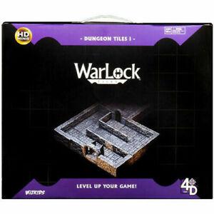 Warlock Tiles: Dungeon, Doors & Archways, Stairs & Ladders, Dressings, Town New
