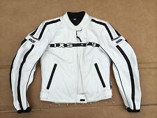 """IXS Mens Leather Motorbike / Motorcycle Jacket Size UK 32"""" Chest (L)"""
