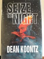 Seize The Night Deluxe Limited Edition Signed By Dean Koontz And Phil Parks