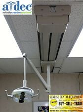 ADEC 6300 Dental Track Light *Refurbished