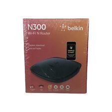 Belkin N300 Wireless N Router