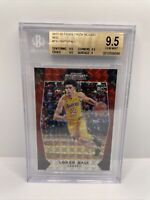 2017-18 Panini Prizm Mosaic RED Lonzo Ball #73 BGS 9.5 Rookie RC