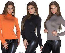 Camisas y tops de mujer de manga larga de viscosa/rayón talla 38