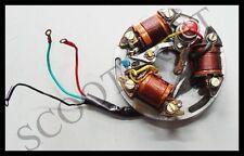 Vespa Stator Plate Assy 6V 5 Wire Point Type Vbb VN VM VL 150 Super Sprint