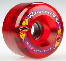 70mm x 45mm x 80a Kryptoncis Route Longboard Wheel, Set of 4
