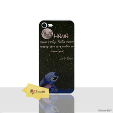 Lilo & Stitch Case/Cover For Apple iPhone 6s 6 (4.7) / Silicone Gel / Quote Moon