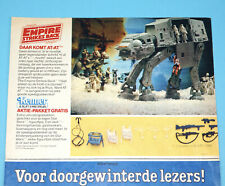 STAR WARS CLIPPER MAGAZINE ADVERT ESB 1982 DONALD DUCK HOLLAND KENNER