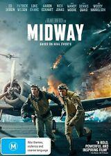 Midway DVD Woody Harrelson Jake Weber R4