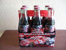 Nascar 1998 Dale Earnhardt Sr #3 & Dale Jr #1..6-Pack Of 8 Oz. Coca-Cola Bottles