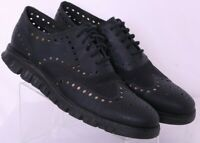 Cole Haan ZeroGrand C12973 Perforated Wingtip Oxford Sneaker Shoes Men's US 8M
