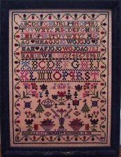 ISABELLA GRAY 1838 SAMPLER-CROSS STITCH CHART-SAMPLER REVISITED