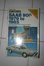 Chiltons Repair guide, Saab 900 1979-1985, isbn 0-8019-7572-7