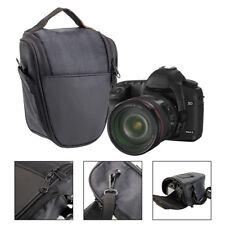 Pequeño triángulo digital DSLR cámara lente hombro bolsa para Nikon Canon Sony