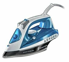 Russell Hobbs 23970 Speed Glide Pro Steam Iron 2600W, Blue and White