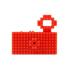 Nanoblock Toy Digital Camera Fuuvi toy customize nano block Red