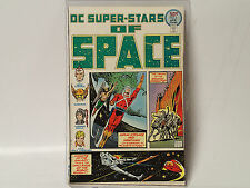 DC SUPER-STARS of SPACE #2 DC Comics 1976 FN Adam Strange HAwkman