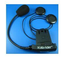 Cardo Scala Rider Solo BT Klemm Halter 20cm Mikrofon Team + Q2 + Multiset + Pro