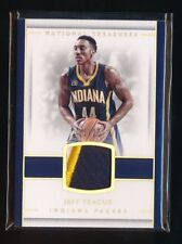 JEFF TEAGUE 2016-17 PANINI NATIONAL TREASURES MATERIAL PATCH 1/25 INDIANA PACERS