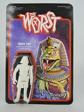 2016 SDCC EXCLUSIVE SUPER 7 THE WORST SNAKE TUT ACTION FIGURE SERPENT GOD
