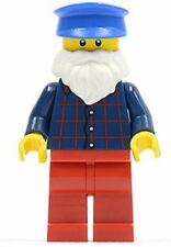 LEGO Man with Beard Stall Holder Minfigure from Winter Village Market 10235 NEW