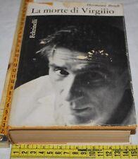 BROCH Hermann - LA MORTE DI VIRGILIO - Feltrinelli - libri usati