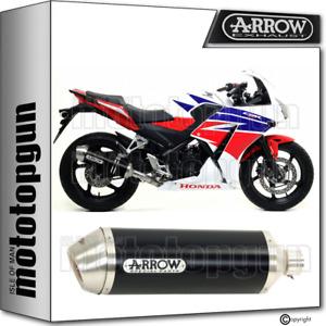 ARROW EXHAUST HOMOLOGATED RACE-TECH ALUMINIUM BLACK HONDA CBR 300 R 2014 14