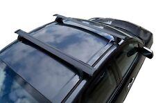Aero Roof Rack Cross Bar for Mazda CX5 KF 17-18 Black Lockable 120cm Extended