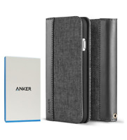Anker-Tough Shell Elite Folio Flip Credit Card Wallet Case For iPhone 7/iPhone 8