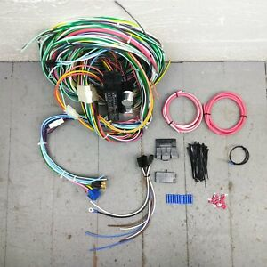 1967 - 1968 Mercury Cougar Wire Harness Upgrade Kit fits painless circuit fuse