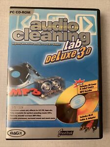 Magix Audio Cleaning Lab Deluxe 3.0 PC Digitally Remaster CDs