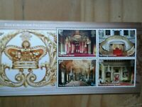 2014 Buckingham Palace Stamp Mini Sheet 4 x 1st Class Stamps Complete MNH