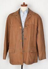 Vintage CHEVIGNON Lederjacke Leather Jacket Mantel Gr L XL Tan Braun HERBST FALL