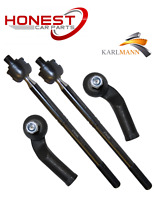 For FORD FOCUS MK2 2004-2011 FRONT STEERING INNER & OUTER TRACK TIE ROD ENDS X2