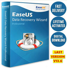 EaseUS Data Recovery Wizard v13.6 Full Version- Lifetime License 🔥Fast Delivery