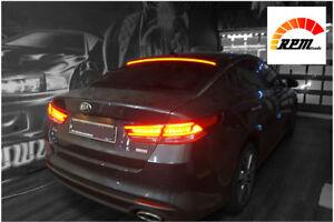 Rear Glass Roof LED Brake Stop Lamp Light Lip Spoiler For Kia optima K5 16~2018