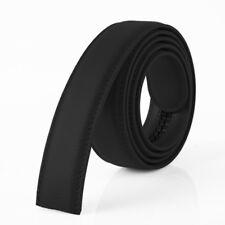Fashion Men Leather No Automatic Buckle Strap Waist Belts Waistband Ratchet Aid