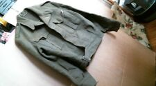 1952 US Army Battle Dress Blouse Serge Wool Ike Jacket Eisenhower Korea uniform
