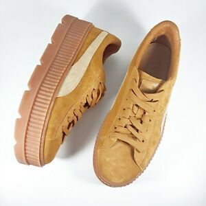 Puma Fenty by Rihanna Creepers Mens Sz 11M Brown Suede Casual Sneakers
