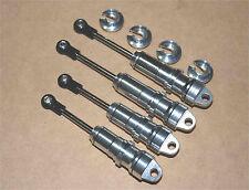 Performance Big Bore Shock 4 ECX Torment 1/10 Brushless W/4mm shaft -Sil