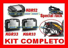 BMW F 800 GS 08-13 KIT 3 KOFFER KGR33 + KGR52 + CHASSIS SR5107 + PLR5103 + K635