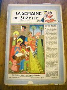La Semaine de Suzette - 1947  lot de 19 numéros