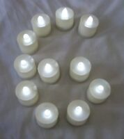 6 pcs White Flameless Flickering LED Candle Tea Light Home Decoration Supplies