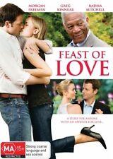 Feast of Love ** LIKE NEW ** Morgan Freeman, Greg Kinnear - PAL Region 4 (AUST)