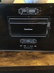 rockford fosgate prime amplifier R600-5