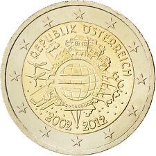 EUR, Autriche, 2 Euro 10 ans de l'Euro 2012 #84982