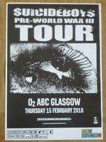 $uicideboy$ - Glasgow feb.2018 live music show concert gig poster - Suicideboys