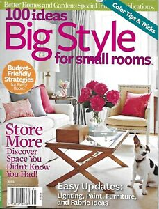 100 Ideas Big Style For Small Rooms Magazine Furniture Fabric Lighting Paint